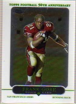 2005 Topps Chrome #177 Frank Gore RC