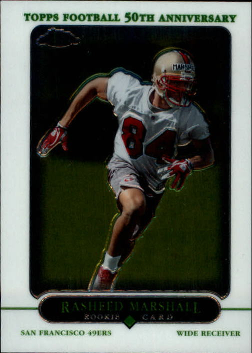2005 Topps Chrome #237 Rasheed Marshall RC