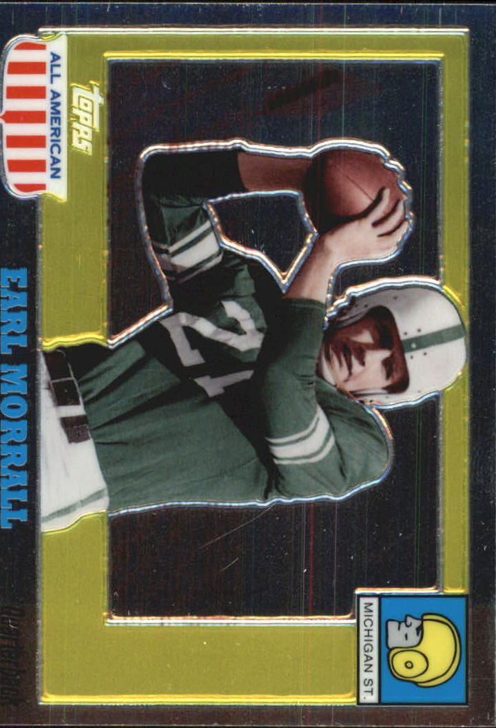 2005 Topps All American Chrome #88 Earl Morrall