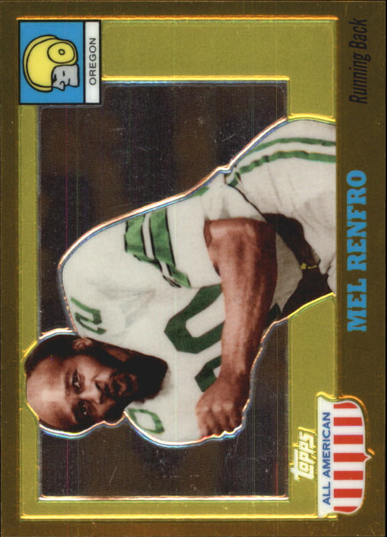 2005 Topps All American Gold Chrome #27 Mel Renfro