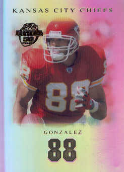 2005 Topps Tribute #39 Tony Gonzalez