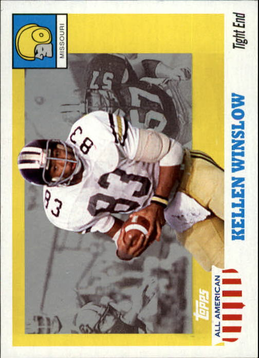 2005 Topps All American #2 Kellen Winslow