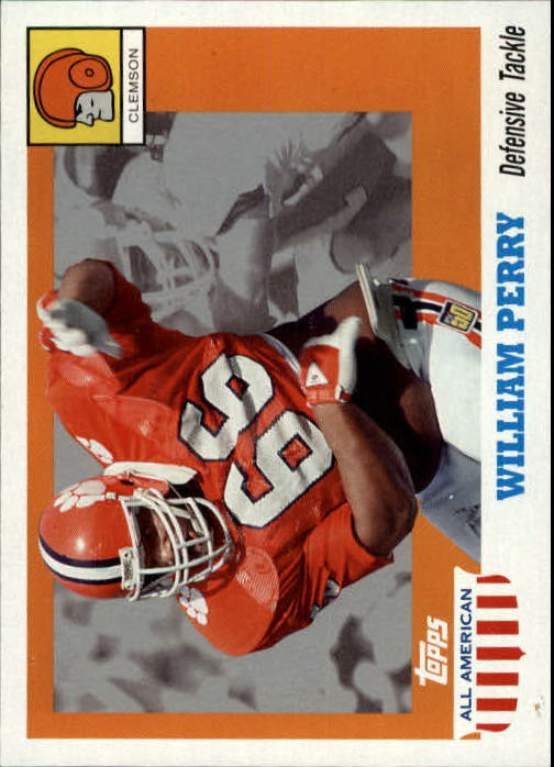 2005 Topps All American #7 William Perry