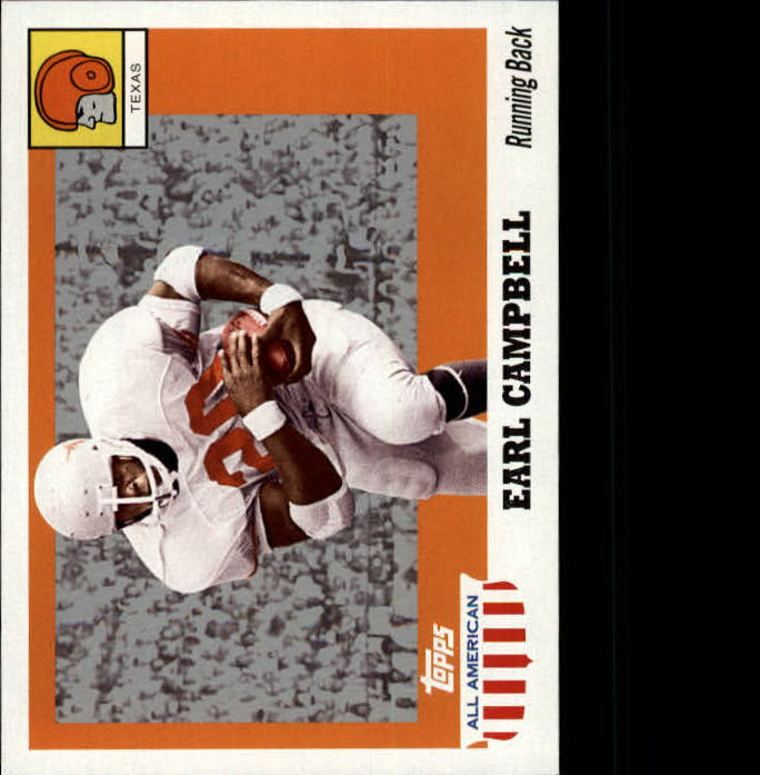 2005 Topps All American #11 Earl Campbell