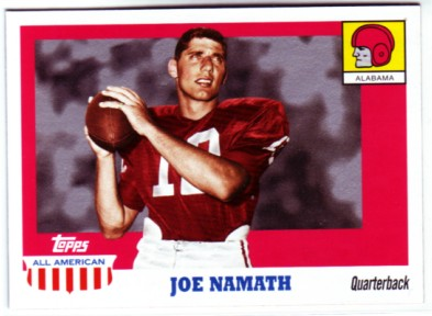 2005 Topps All American #15 Joe Namath