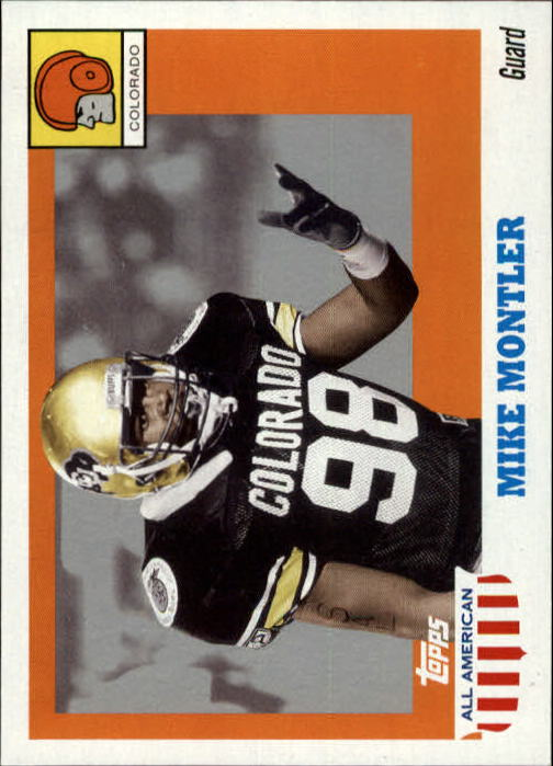 2005 Topps All American #21 Mike Montler ERR/(wrong player photo)