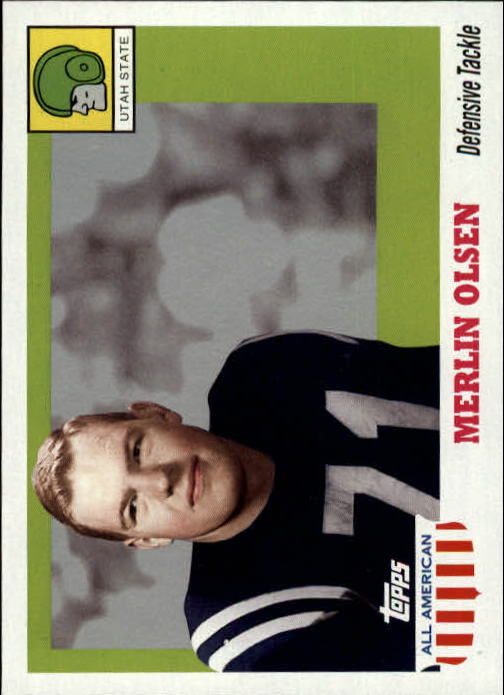 2005 Topps All American #22 Merlin Olsen