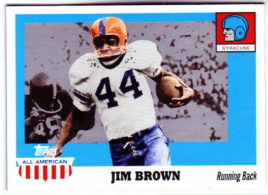 2005 Topps All American #25 Jim Brown
