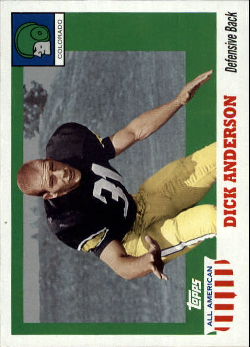 2005 Topps All American #32 Dick Anderson