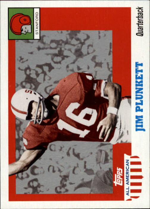 2005 Topps All American #33 Jim Plunkett