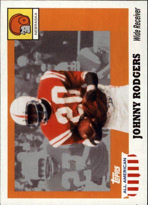 2005 Topps All American #34 Johnny Rodgers