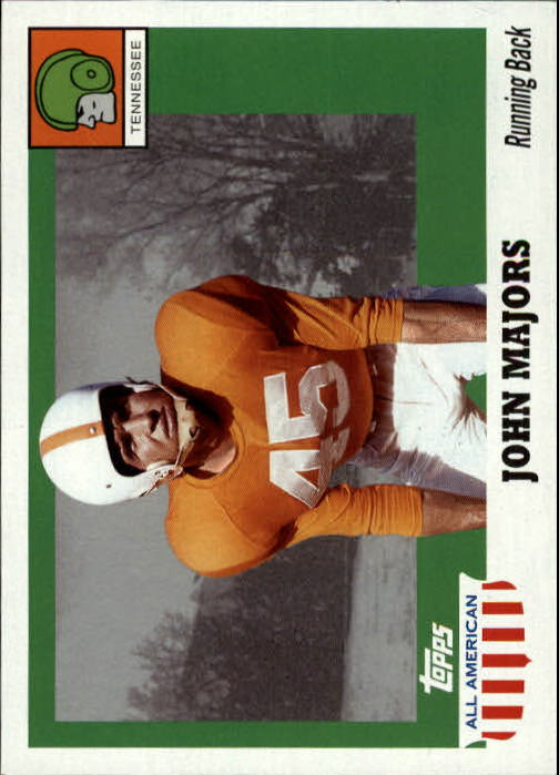 2005 Topps All American #38 Johnny Majors