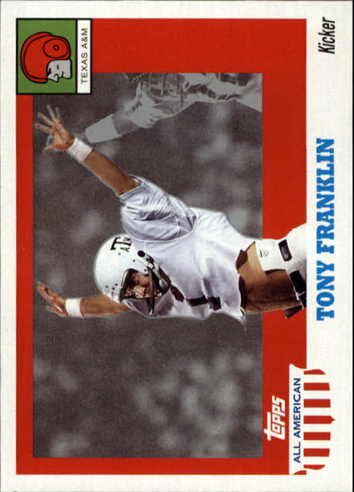 2005 Topps All American #47 Tony Franklin