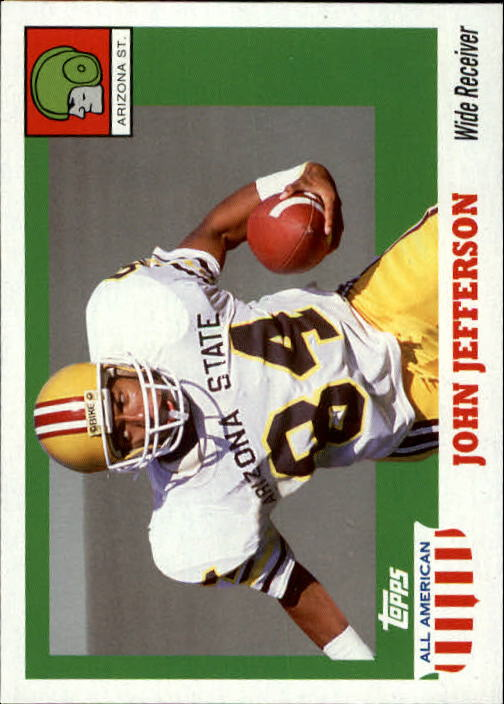 2005 Topps All American #48 John Jefferson