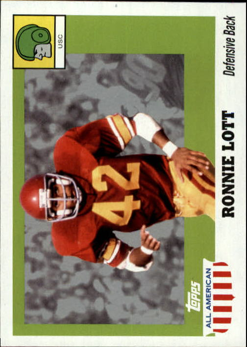2005 Topps All American #52 Ronnie Lott