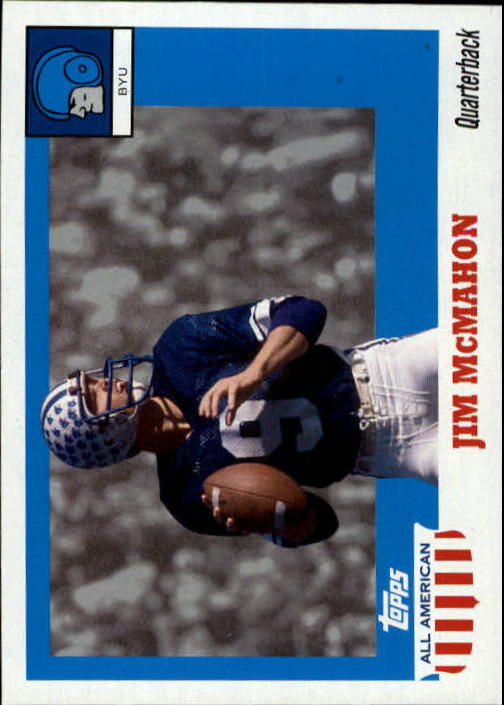 2005 Topps All American #54 Jim McMahon