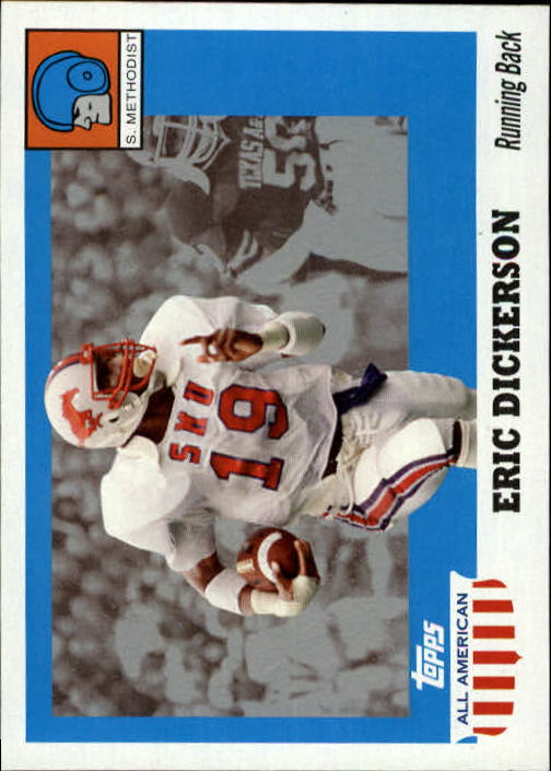 2005 Topps All American #60 Eric Dickerson