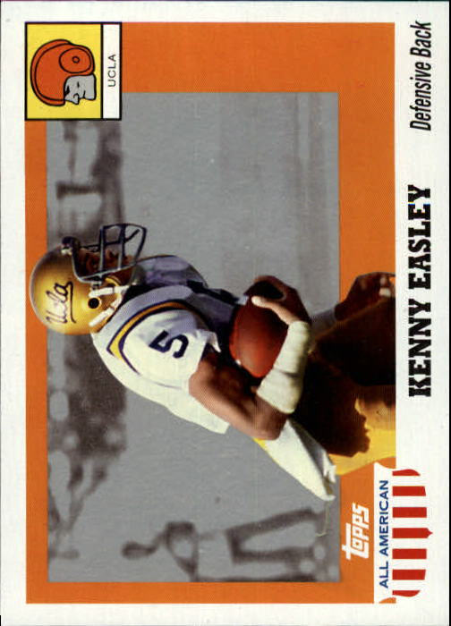 2005 Topps All American #61 Kenny Easley