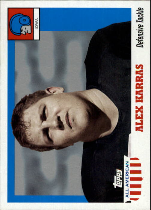 2005 Topps All American #63 Alex Karras
