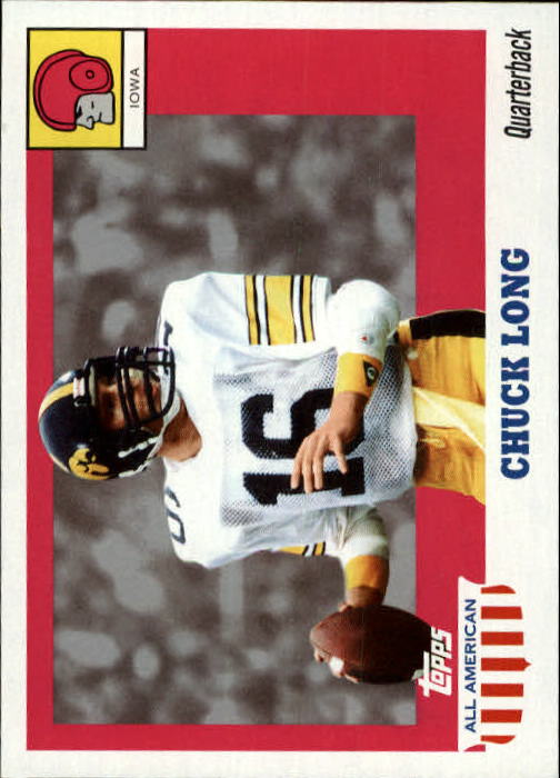 2005 Topps All American #65 Chuck Long