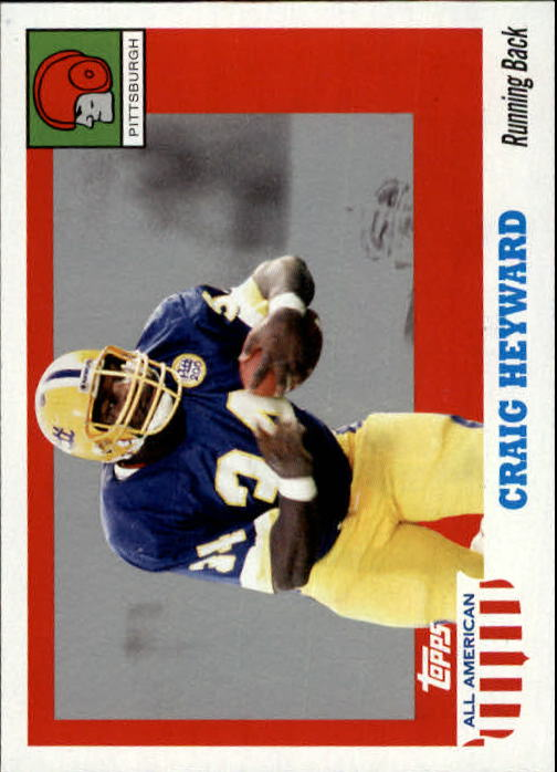 2005 Topps All American #70 Craig Heyward