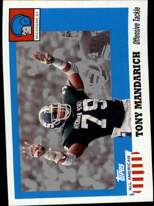 2005 Topps All American #74 Tony Mandarich