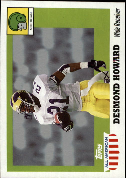 2005 Topps All American #78 Desmond Howard