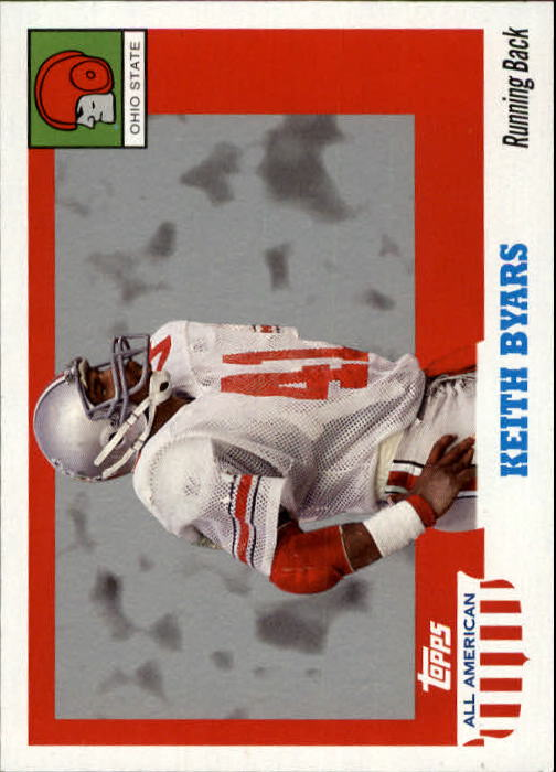 2005 Topps All American #86 Keith Byars