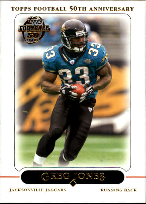 2005 Topps #15 Greg Jones