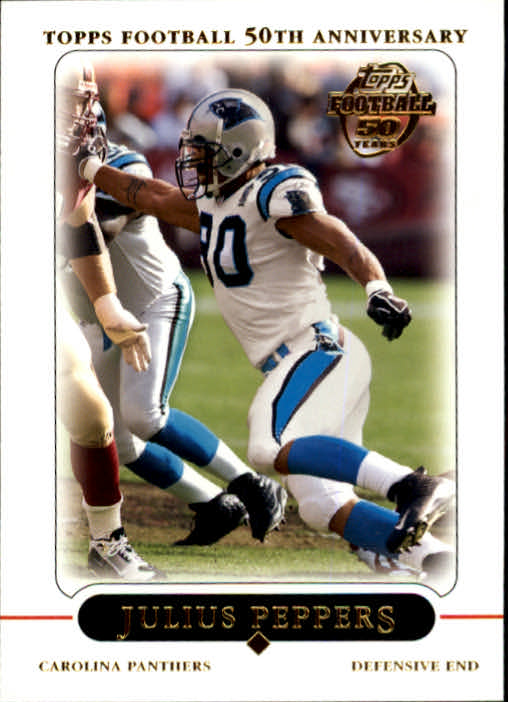 2005 Topps #17 Julius Peppers