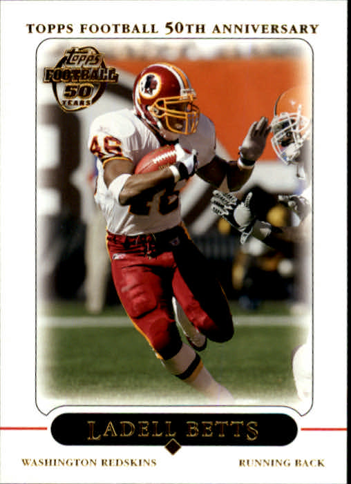 2005 Topps #81 Ladell Betts