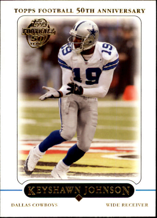 2005 Topps #97 Keyshawn Johnson
