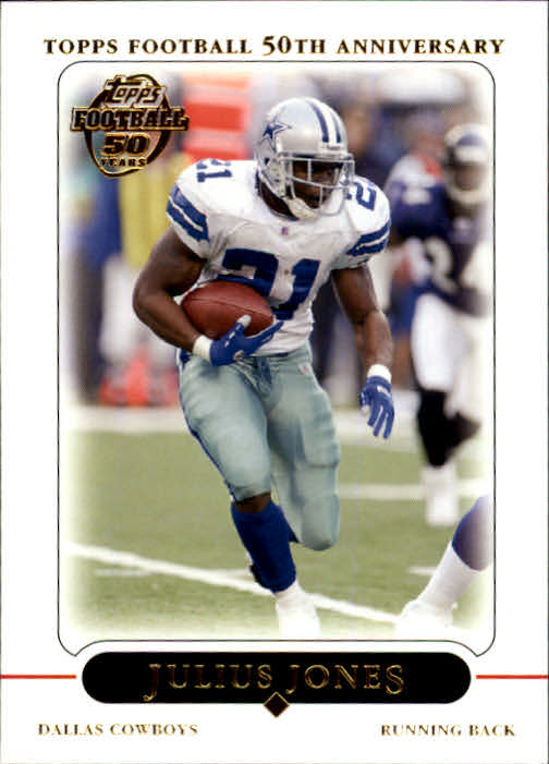 2005 Topps #136 Julius Jones