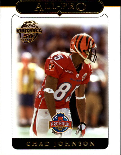 2005 Topps #349 Chad Johnson AP