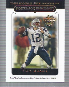 2005 Topps #360 Tom Brady PH