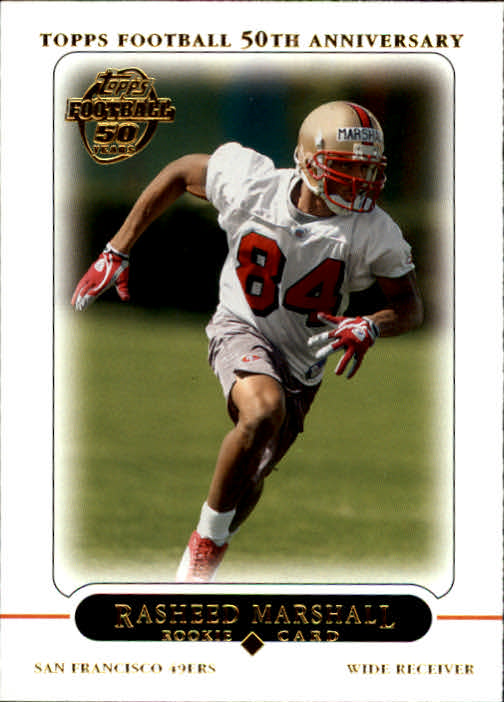 2005 Topps #401 Rasheed Marshall RC