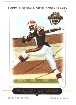 2005 Topps #415 Braylon Edwards RC