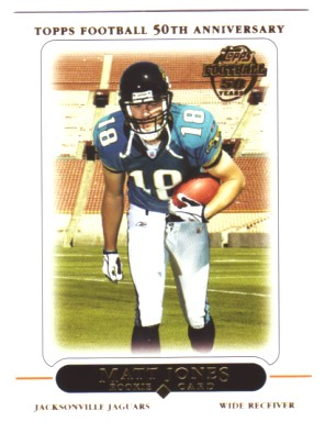 2005 Topps #422 Matt Jones RC