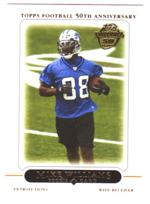 2005 Topps #439 Mike Williams