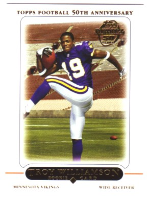 2005 Topps #440 Troy Williamson RC