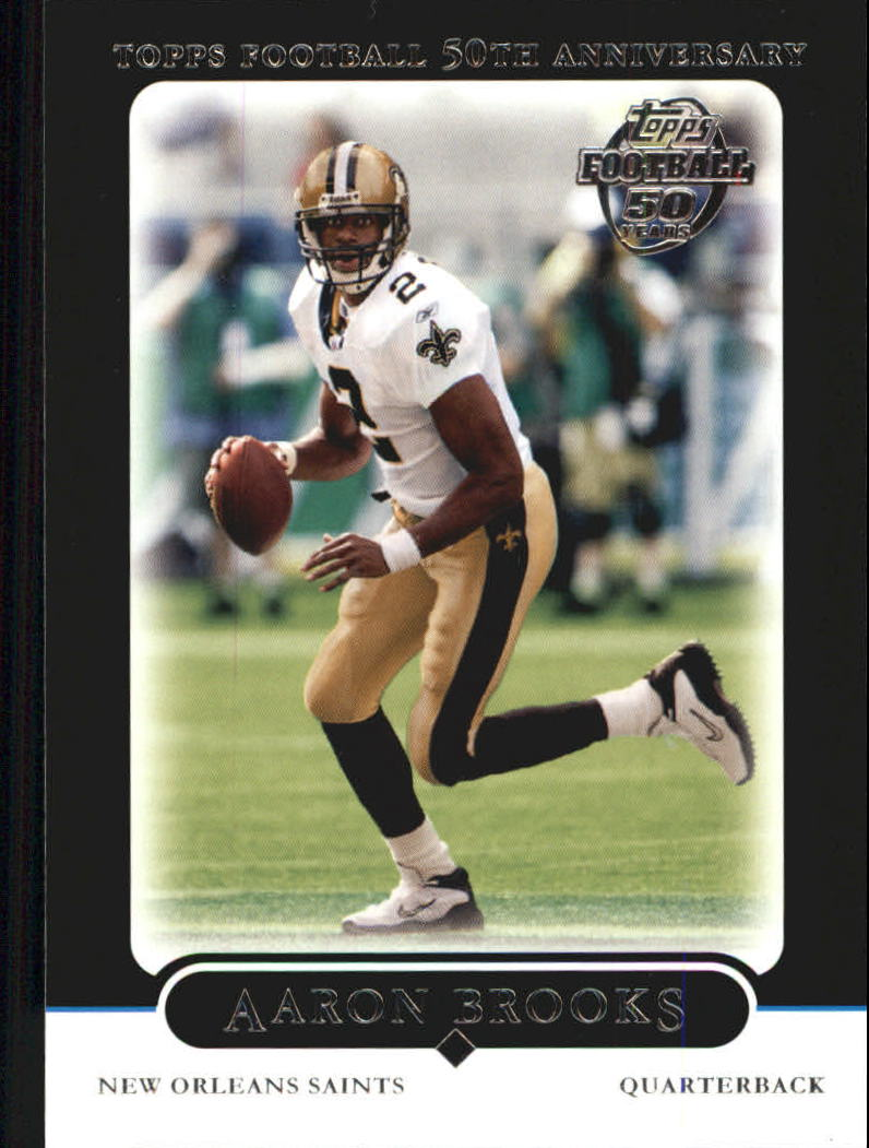 2005 Topps Black #122 Aaron Brooks
