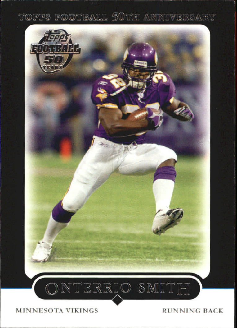 2005 Topps Black #187 Onterrio Smith