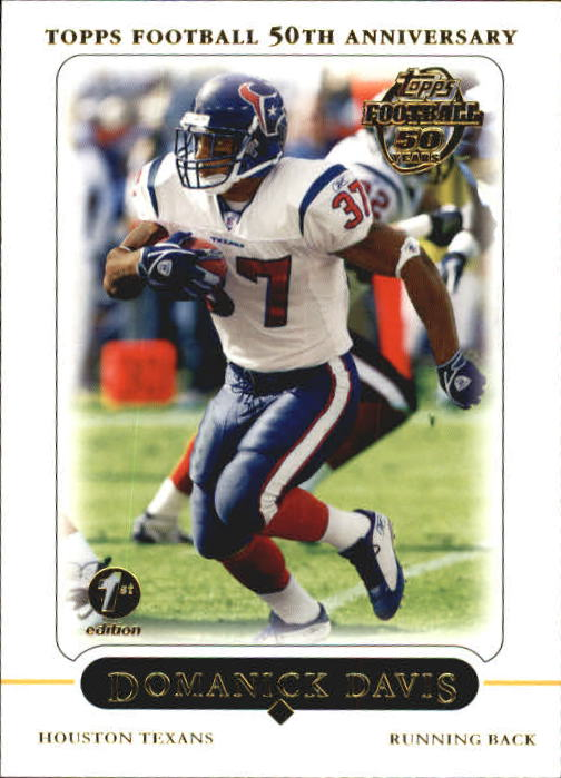 2005 Topps First Edition #3 Domanick Davis