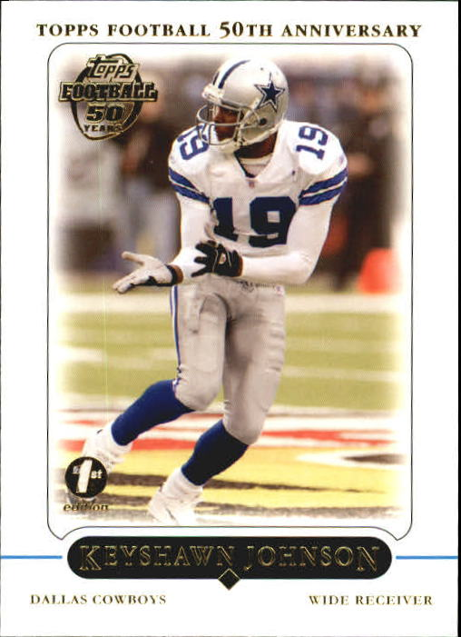 2005 Topps First Edition #97 Keyshawn Johnson