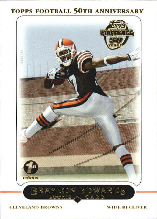 2005 Topps First Edition #415 Braylon Edwards
