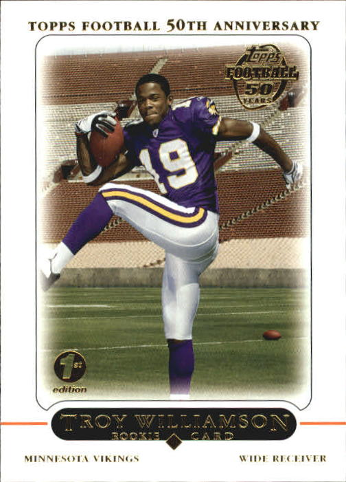 2005 Topps First Edition #440 Troy Williamson