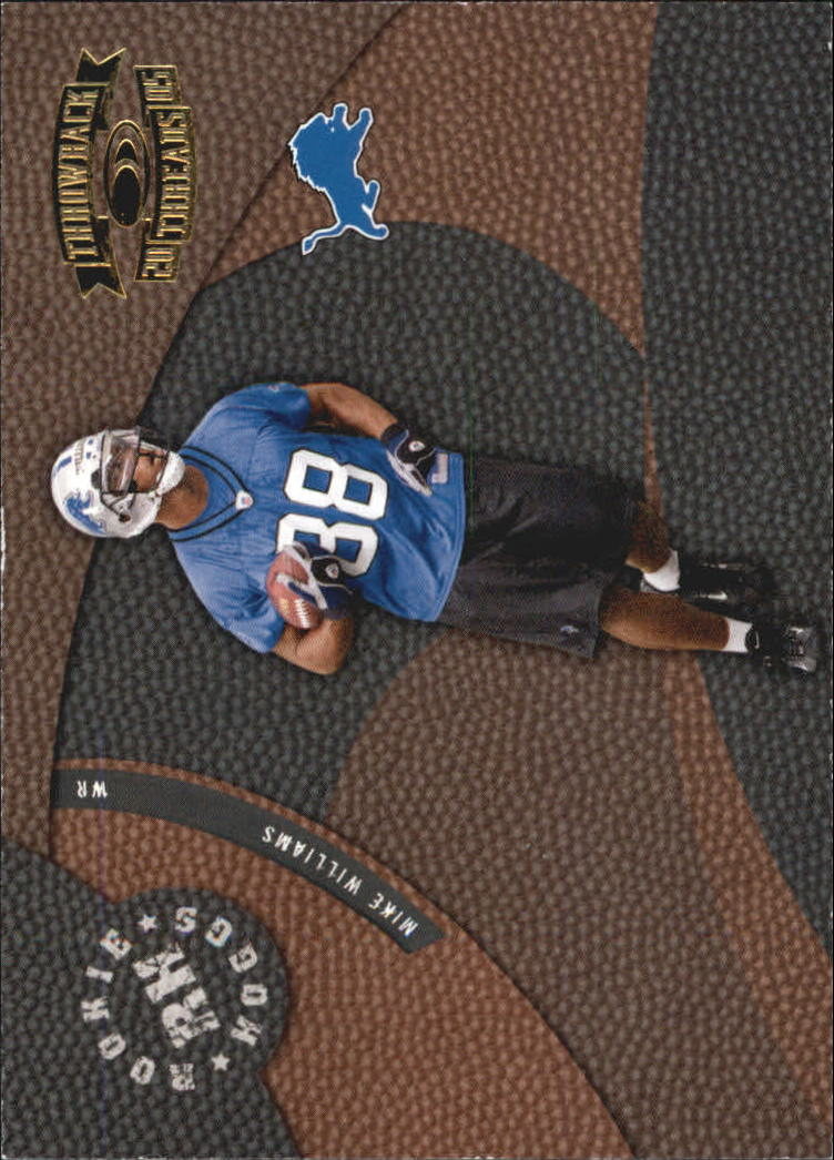 2005 Throwback Threads Rookie Hoggs #10 Mike Williams