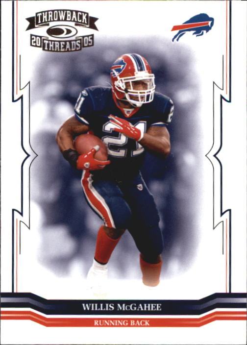 2005 Throwback Threads #18 Willis McGahee