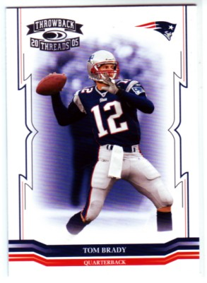 2005 Throwback Threads #88 Tom Brady