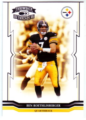 2005 Throwback Threads #116 Ben Roethlisberger